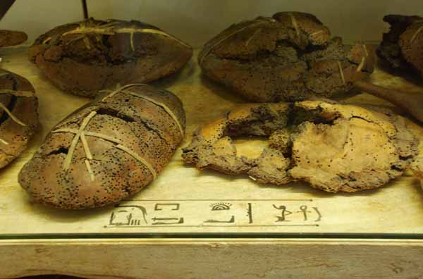 Pane proveniente dall'Antico Egitto