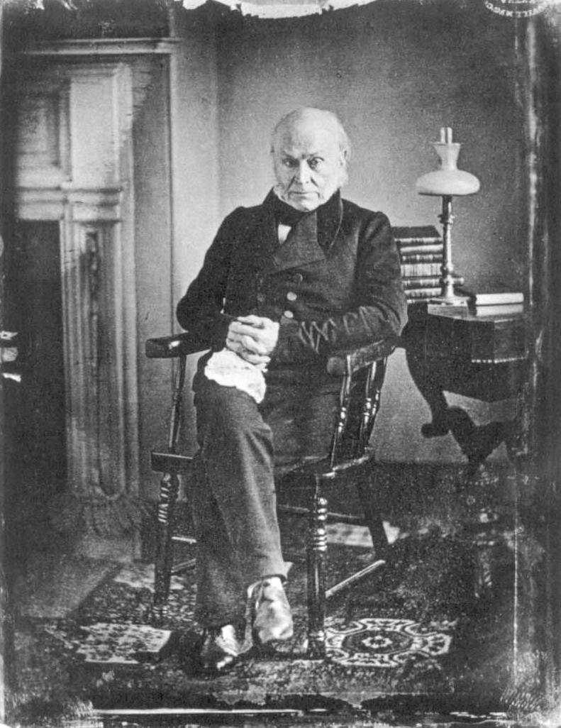 John Quincy Adams ritratto nel 1843