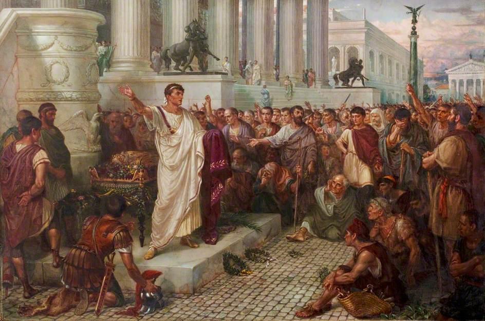 funerali Cesare