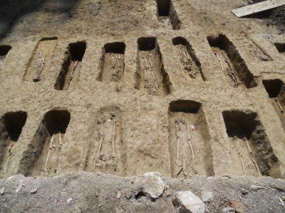 cemitério judeu em Bolonha