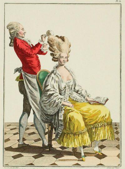 peinados Versalles