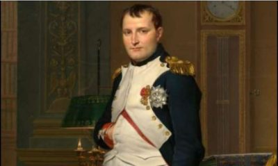 shows Napoleon Bonaparte