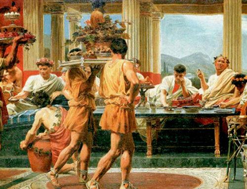 """Flatulenze, Scarti ed altre """"Raffinatezze"""" nei Banchetti dell'Antica Roma"""