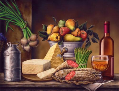 A Pranzo da un Mercante Fiorentino del '500: il (Ricco) Menu