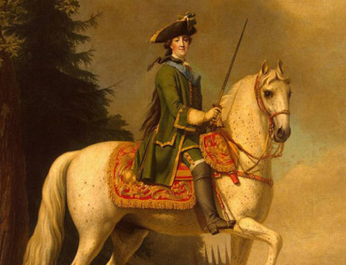 "Catherine the Great: Gossip in a ""Red lights"" on His Death"