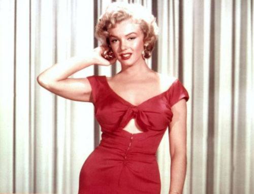 "lencería ""congelado"" di Marilyn Monroe"