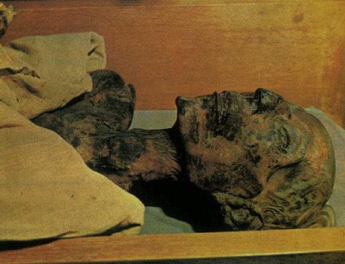 Polvere di Mummia come Medicina