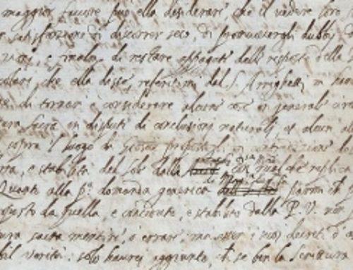 """Galileo Galilei: Ritrovata Lettera """"Eretica"""""""
