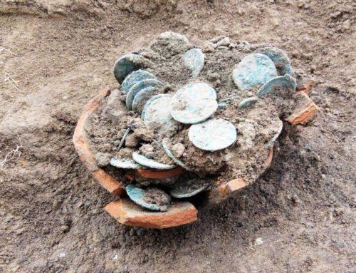 Cremona: Roman Coins trouvés dans l'ère de Gallien