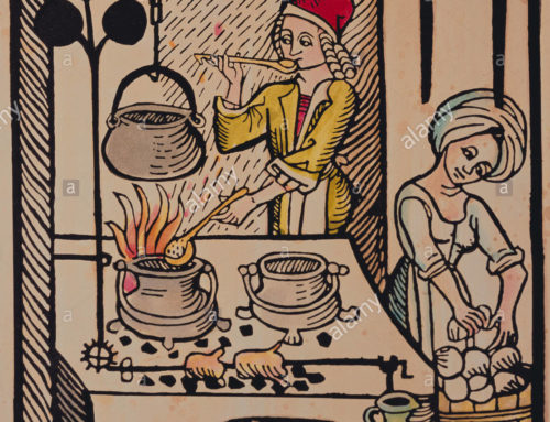 Toasted Bread and Leeks: Medieval Christmas Recipe