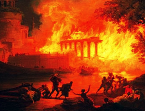 Fire of Rome: such as damage to the City and how many victims?