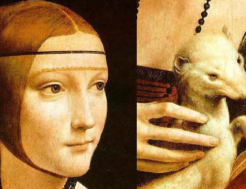 Lady with an Ermine: The Secret in the Leonardo Framework