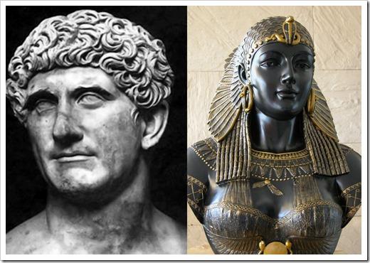 la tumba de Cleopatra