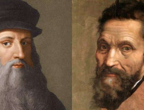 Michelangelo e Leonardo non si Sopportavano a Vicenda?
