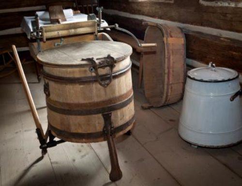 William Blackstone, el primer fabricante de lavadoras (1874)