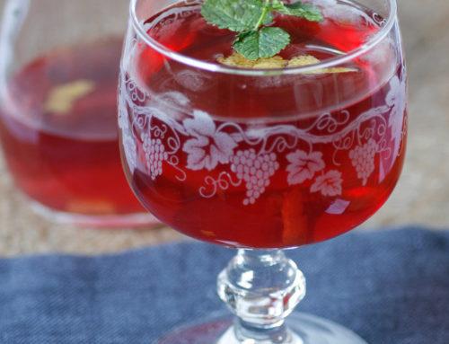 Copa Claret: Inglés beber según la receta de Pellegrino Artusi