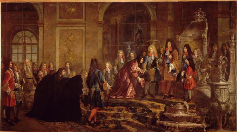 sirvientes Versalles
