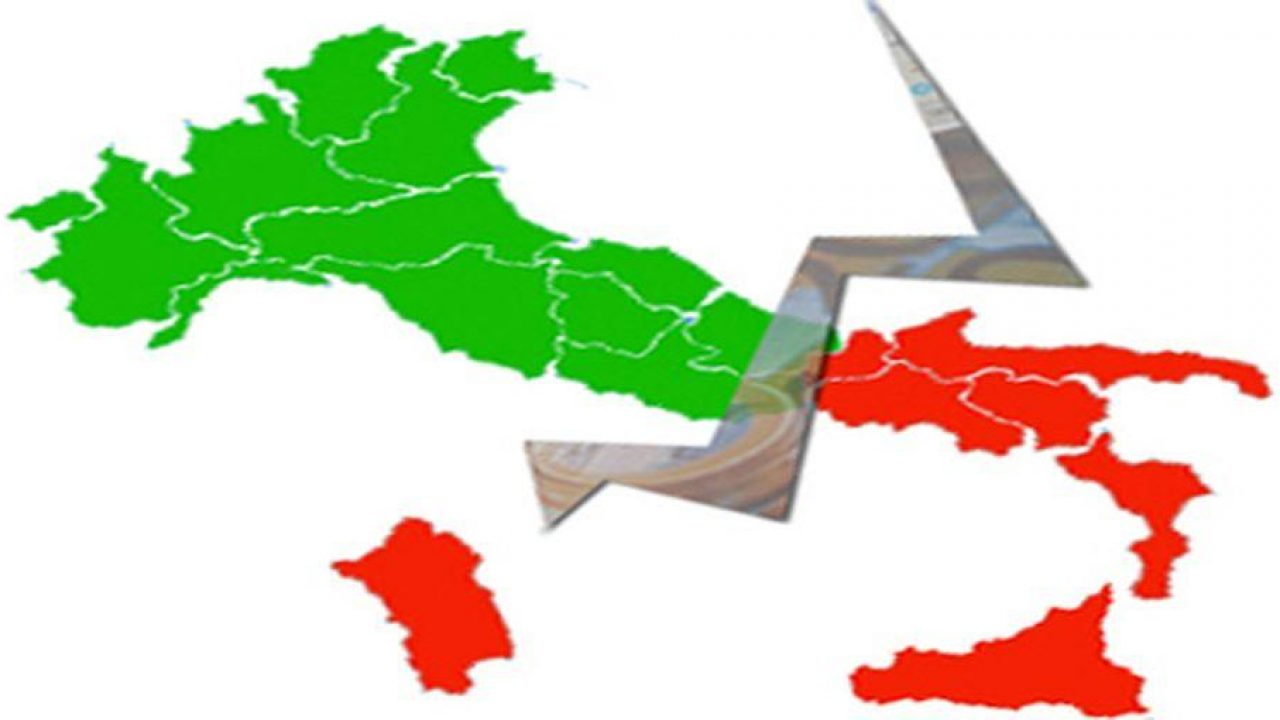 North / South of Italy controversy