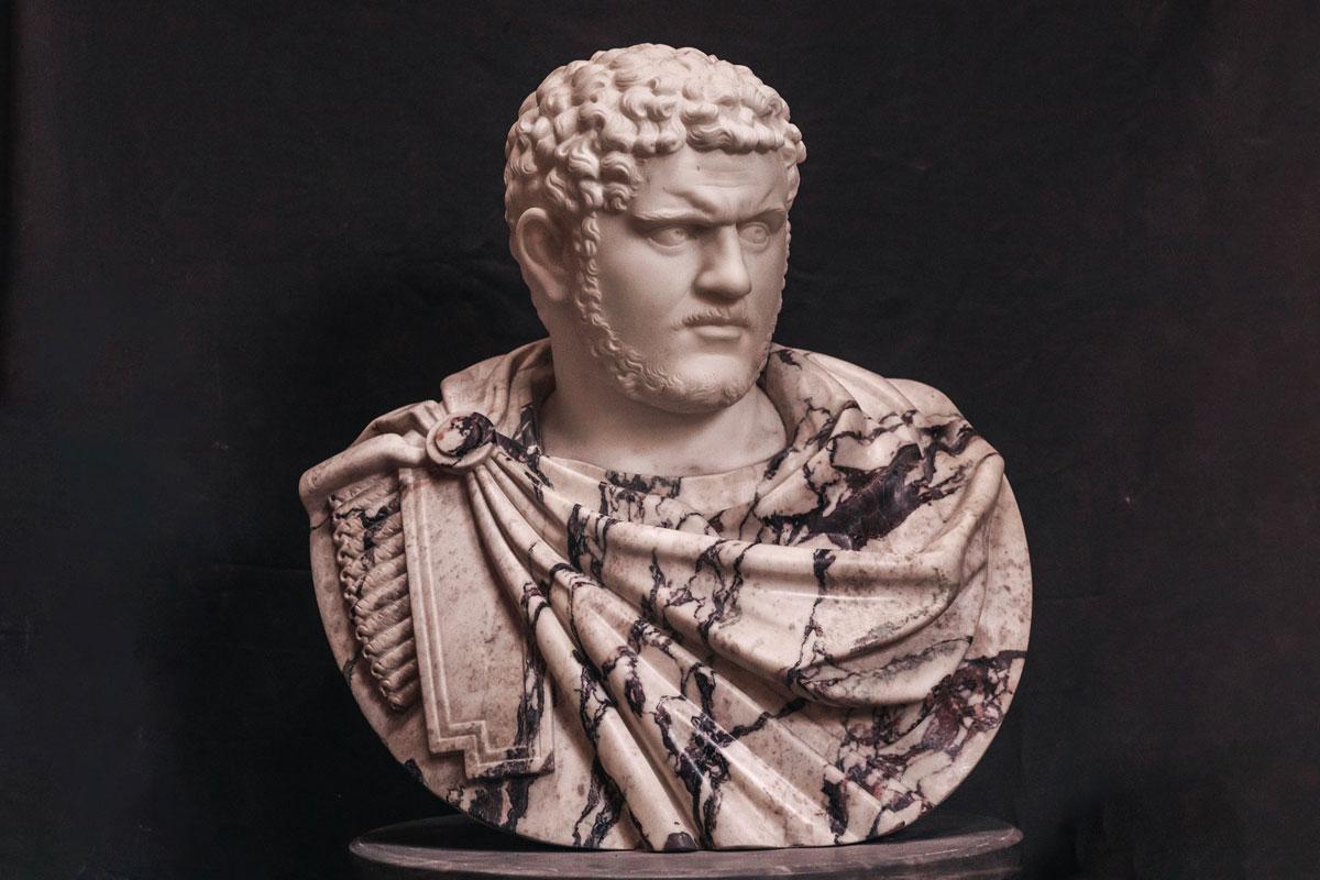 origine del soprannome Caracalla