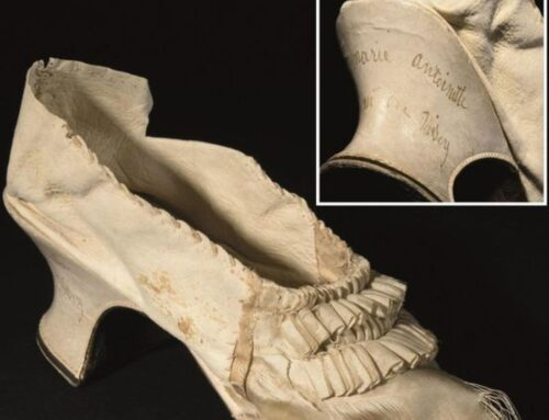 Shoe of Marie Antoinette Sold at Auction for 43.750 Euro