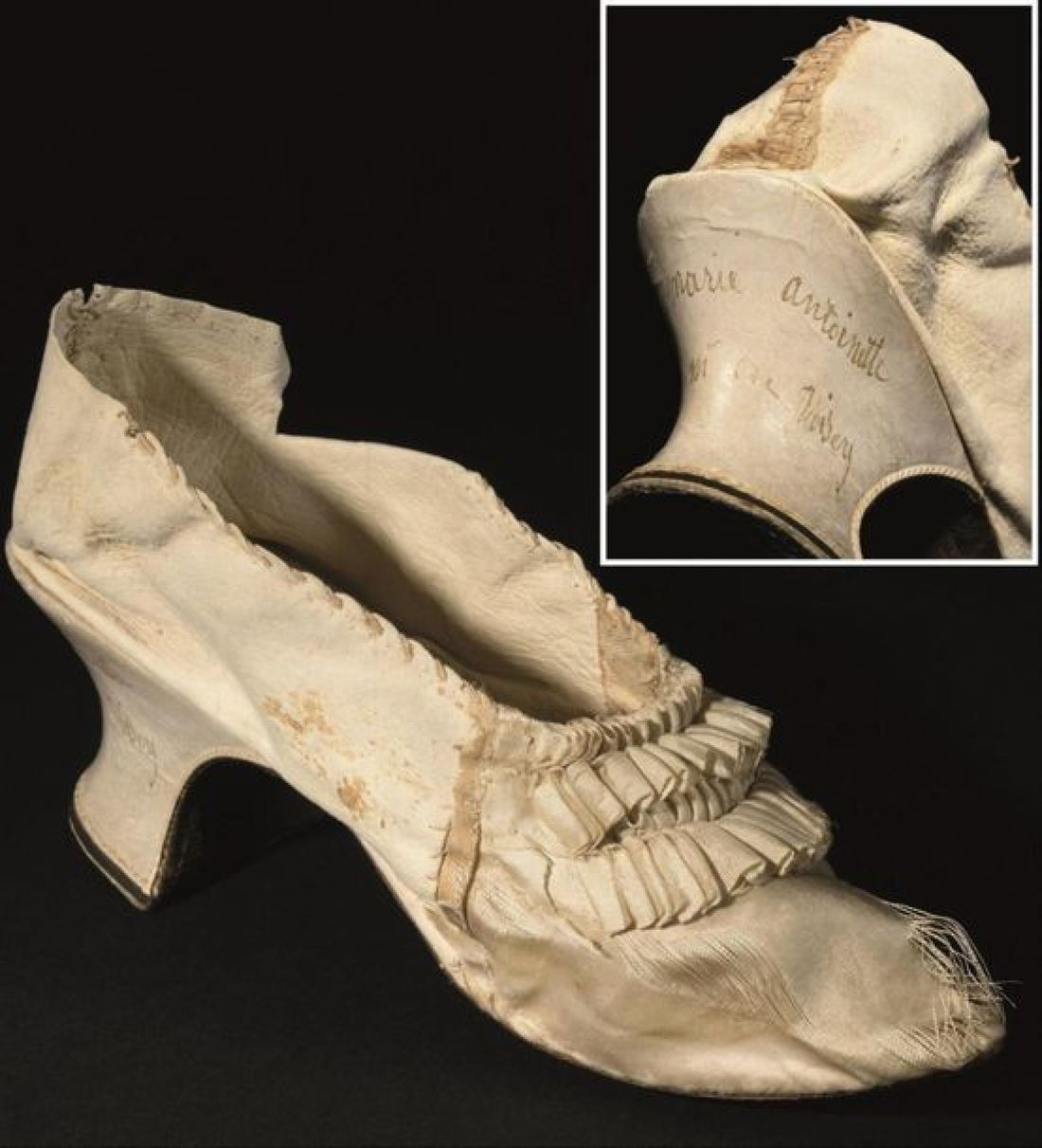 shoe of marie antoinette