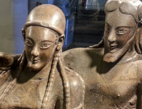 Theopompus of Chios is scandalized by the too much freedom of Etruscan women