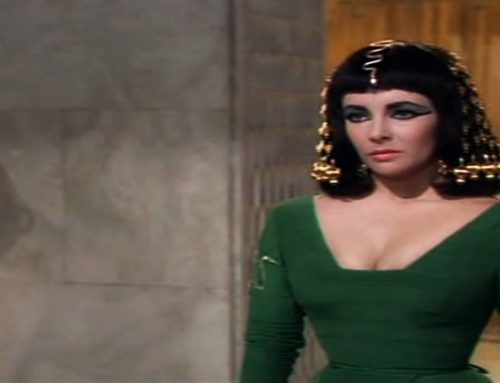 Cleopatra's Stratagem: Wrapped in a carpet, she introduces herself to Caesar